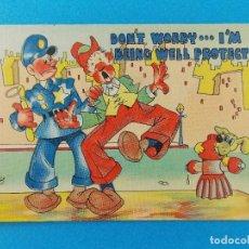 Postales: ANTIGUA POSTAL - USA - POST CARD - ANIMADAS , CARICATURAS - HUMOR - BROMAS - ... R-8312. Lote 111957411