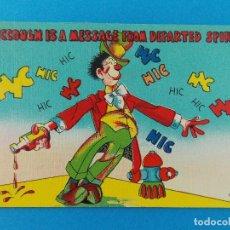 Postales: ANTIGUA POSTAL - USA - POST CARD - ANIMADAS , CARICATURAS - HUMOR - BROMAS - ... R-8313. Lote 111959175