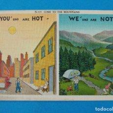 Postales: ANTIGUA POSTAL - USA - POST CARD - ANIMADAS , CARICATURAS - HUMOR - BROMAS - ... R-8314. Lote 111959227