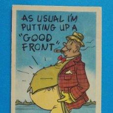 Postales: ANTIGUA POSTAL - USA - POST CARD - ANIMADAS , CARICATURAS - HUMOR - BROMAS - ... R-8321. Lote 111959975