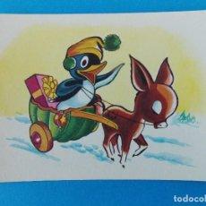 Postales: ANTIGUA POSTAL DIBUJO ANIMADA - PINGUINO - CORREO - MIRIAM A.G - BILBAO... R-8355. Lote 112042971