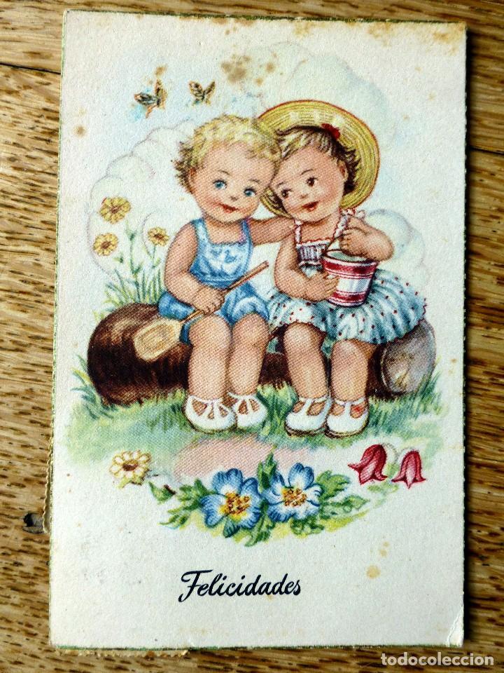 EDICIONES TRIO SERIE A CIRCULADA 1953 (Postales - Dibujos y Caricaturas)