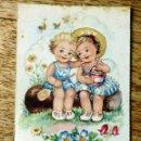 Postales: EDICIONES TRIO SERIE A CIRCULADA 1953. Lote 112534679