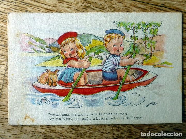 EDITORIAL ARTIGAS ILUSTRA BOMBON CIRCULADA 1953 (Postales - Dibujos y Caricaturas)