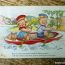 Postales: EDITORIAL ARTIGAS ILUSTRA BOMBON CIRCULADA 1953. Lote 112538227