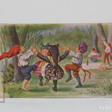Postales: ANTIGUA POSTAL ILUSTRADA - SARDANA Nº 689 / J. IBÁÑEZ - ED. VICTORIA - AÑO 1931. Lote 115093883