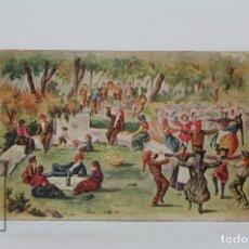 Postales: ANTIGUA POSTAL ILUSTRADA - SARDANA Nº 690 / J. IBÁÑEZ - ED. VICTORIA - AÑO 1934. Lote 115093900