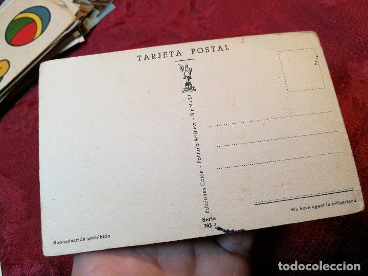 Postales: postal - ediciones colón - politipia artística benisi - serie 203 / 2 - - Foto 2 - 116511275