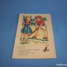Postales: POSTAL, EDITORIAL M.MONFORT, ILUSTRADORA A.DIE, SERIE 10, SIN CIRCULAR. Lote 116536395