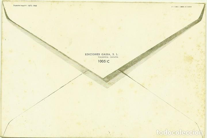 Postales: 4945A- DIA DE LA MADRE - EDICIONES GAISA 1005.C - LIT S. DURÁ 1962- DIPTICA 19,2X12,8 CM - Foto 2 - 116543271