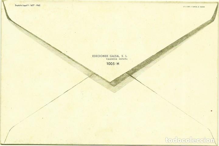 Postales: 4947A - DIA DE LA MADRE - EDICIONES GAISA 1005.H - LIT S. DURÁ 1962- DIPTICA 19,2X12,8 CM - Foto 2 - 116543903