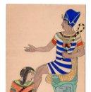 Postales: POSTAL FARAÓN EGIPCIO - UNION POSTAL UNIVERSAL. Lote 116756103