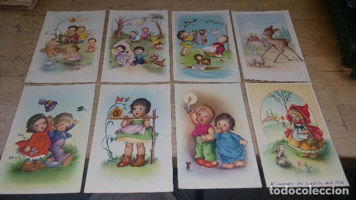 115 POSTALES INFANTILES DE DIFERENTES DIBUJANTES, 14 X 9 CM. (Postales - Dibujos y Caricaturas)