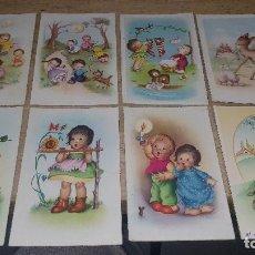 Postales: 115 POSTALES INFANTILES DE DIFERENTES DIBUJANTES, 14 X 9 CM.. Lote 117203095