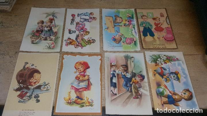 Postales: 115 postales infantiles de diferentes dibujantes, 14 x 9 cm. - Foto 5 - 117203095