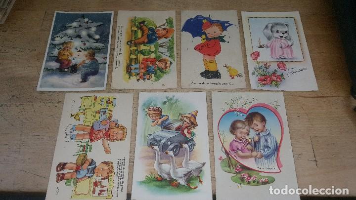 Postales: 115 postales infantiles de diferentes dibujantes, 14 x 9 cm. - Foto 7 - 117203095