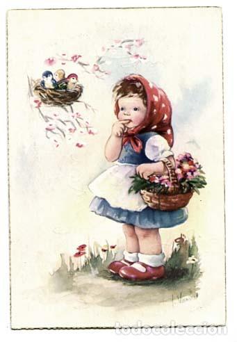 POSTAL ILUSTRADA ( NIÑOS ) ED. C.YZ., ESCRITA (Postales - Dibujos y Caricaturas)