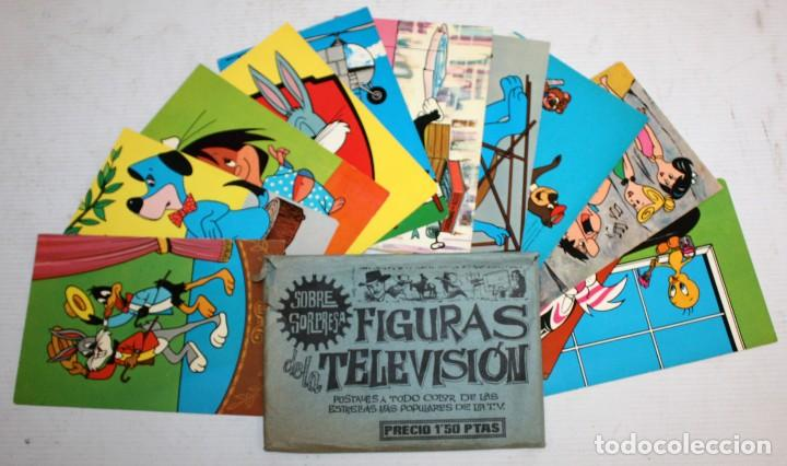 LOTE DE 10 POSTALES DE WARNER BROS - EDICIONES TARJE FHER - SIN CIRCULAR Y CON SOBRE ORIGINAL (Postales - Dibujos y Caricaturas)
