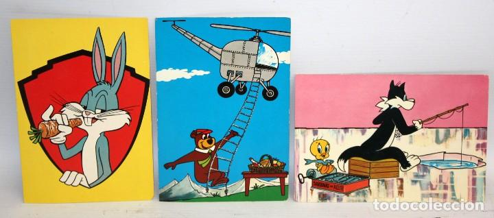 Postales: LOTE DE 10 POSTALES DE WARNER BROS - EDICIONES TARJE FHER - SIN CIRCULAR Y CON SOBRE ORIGINAL - Foto 2 - 117371055