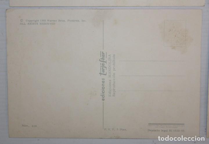 Postales: LOTE DE 10 POSTALES DE WARNER BROS - EDICIONES TARJE FHER - SIN CIRCULAR Y CON SOBRE ORIGINAL - Foto 7 - 117371055