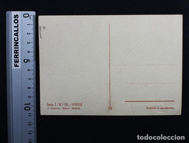 Postales: LOTE 10 POSTALES DE MUSICOS ESPAÑOLES SERIE 1 CARMONA EDITOR, GRANADOS FALLA CHAPI BRETON VIVES... - Foto 2 - 118009567