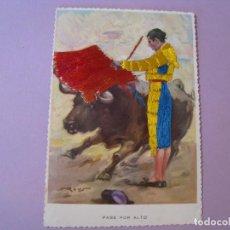 Cartes Postales: POSTAL TAURINA. BORDADA. DURA VELASCO.. Lote 118641763