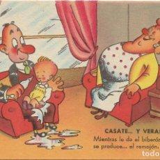Postales: POSTAL ESTAMPERIA RAM SERIE 5 .- ILUSTRA MUNTAÑOLA .- SIN CIRCULAR . Lote 120177691