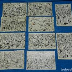 Postales: RICARDO OPISSO - SERIE COMPLETA DE 10 POSTALES AÑOS 20 , SEÑALES DE USO. Lote 120332943