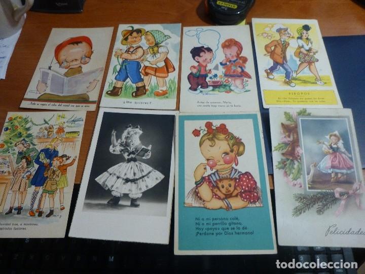Postales: 115 postales infantiles de diferentes dibujantes, 14 x 9 cm. - Foto 9 - 117203095
