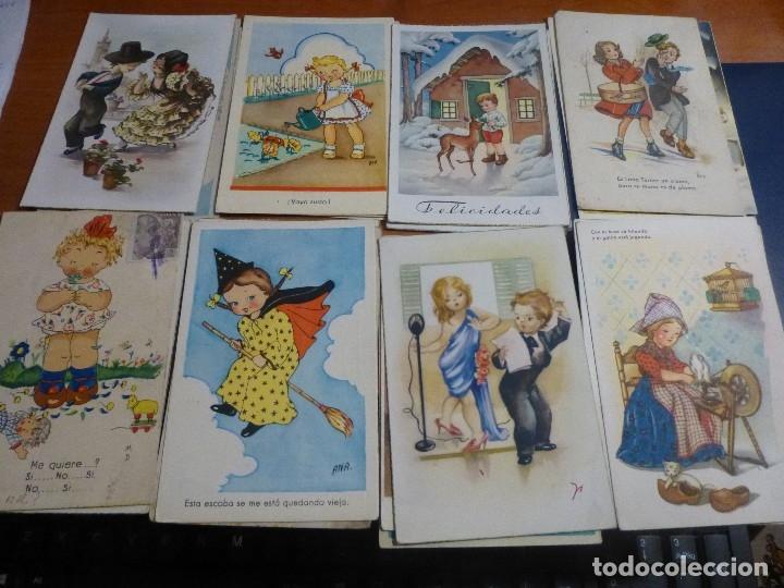 Postales: 115 postales infantiles de diferentes dibujantes, 14 x 9 cm. - Foto 11 - 117203095