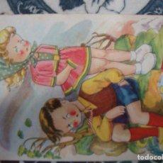 Postales: ILUSTRACION DIBUJO EXITOS DE LA PANTALLA CUMBRES BORRASCOSAS. Lote 120576591