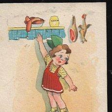 Postales: POSTAL FARINYES * LOS PEQUEÑOS NO ALCANZAMOS * SERIE 38 - AÑO 1943. Lote 121659819