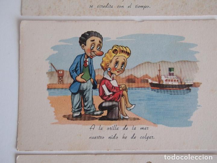 Postales: 3 POSTALES EDICIONES PABLO DÜMMATXEN. SERIE 1224. ILUSTRADAS POR CELMA. SIN CIRCULAR - Foto 3 - 122678111