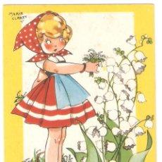 Postales: POSTAL MARI PEPA DE MARIA CLARET. SERIE G Nº7. SIN ESCRIBIR . VELL I BEL. Lote 122721047