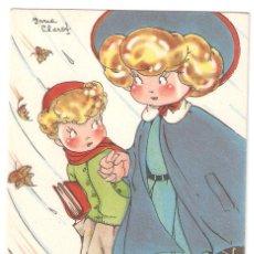 Postales: POSTAL MARI PEPA DE MARIA CLARET. SERIE T Nº 6. SIN ESCRIBIR . VELL I BEL. Lote 122721111