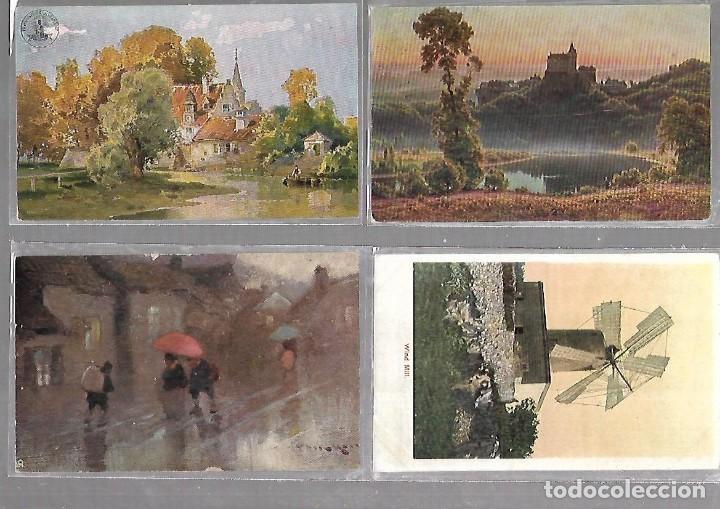 Postales: LOTE DE 55 POSTALES DE PAISAJES. ESCENAS CAMPESTRES. TUCK, CLIMENT Y CIA, EGEMES. VER - Foto 3 - 122840215