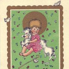 Postales: P168 - LLIMONA - PRECIOSO RECORDATORIO EDICIONES SUBIRANA 12X8 CM. Lote 124144315