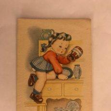Postales: POSTAL. S/109 ILUSTRA BOMBÓN H DE DIEZ . EDITA ARTIGAS (A.1949). Lote 125097820