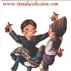 Postales: CARICATURA DEL DIBUJANTE J. IBÁÑEZ. Lote 125891387