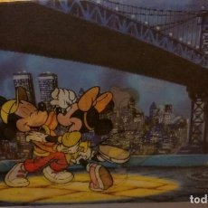 Postales: POSTAL MOVIL 3D – TRIDIMENSIONAL DISNEY . Lote 126018931