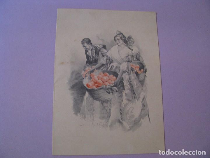 POSTAL DIPTICA DE IL. ARTURO BALLESTER. ED. JDP SERIE 3440/1 ESCRITA 1955. 16,5X12 CM. (Postales - Dibujos y Caricaturas)