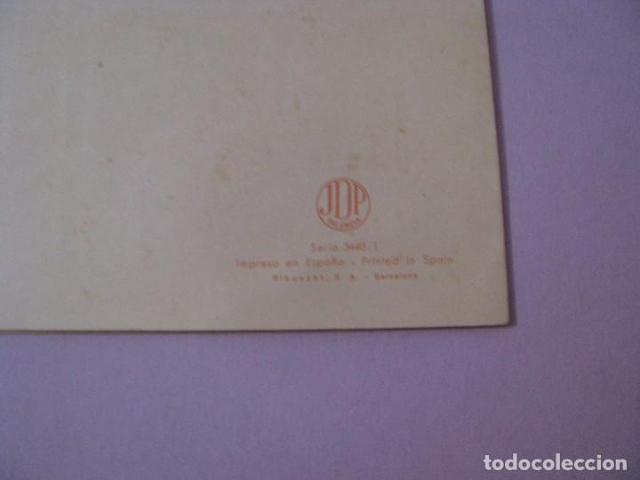 Postales: POSTAL DIPTICA DE IL. ARTURO BALLESTER. ED. JDP SERIE 3440/1 ESCRITA 1955. 16,5X12 CM. - Foto 3 - 127565831