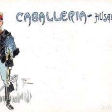 Postales: CABALLERÍA- HUSARES.- SERIE A Nº 18. Lote 127996307