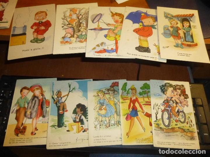 Postales: 115 postales infantiles de diferentes dibujantes, 14 x 9 cm. - Foto 13 - 117203095