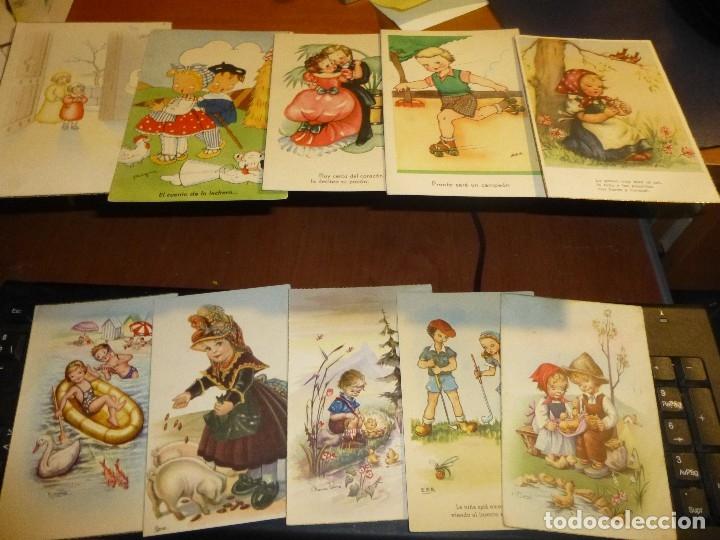 Postales: 115 postales infantiles de diferentes dibujantes, 14 x 9 cm. - Foto 15 - 117203095