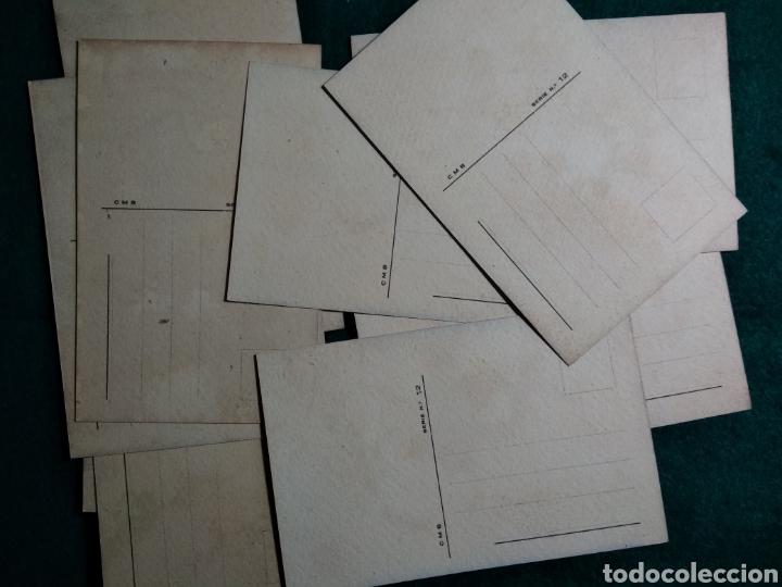 Postales: POSTALES EDICIONES CMB SERIE 12 .- 10 POSTALES SERIE COMPLETA - Foto 2 - 129347482