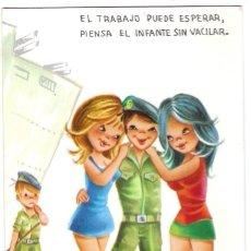 Postales: -72051 POSTAL DIBUJO CHICAS ENAMORADAS DE MARINEROS, ILUSTRACION BORRAS, VIKINGO Nº 2184/1. Lote 130406490