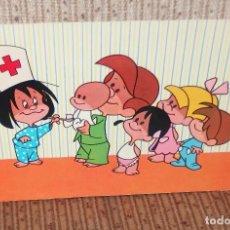 Postales: CLEO ENFERMERA,LA FAMILIA TELERÍN,AÑO 1965. Lote 130500514