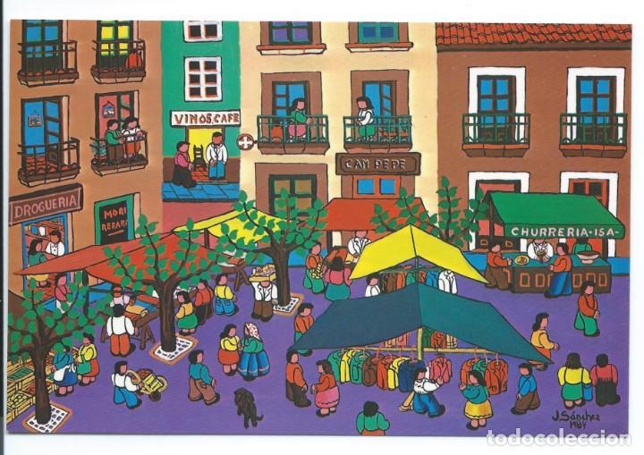 Postales: Colección de 13 postales de NAÏF. Ver fotos - Foto 13 - 130806500