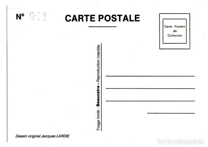 Postales: ANTIGUA POSTAL POST CARD MUJER TREN BÉZIERS SALON DE LA CARTE POSTALE 1991 FEMME TRAIN VER FOTO/S - Foto 2 - 131029988